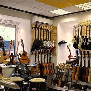 Музыкальные магазины Москвы